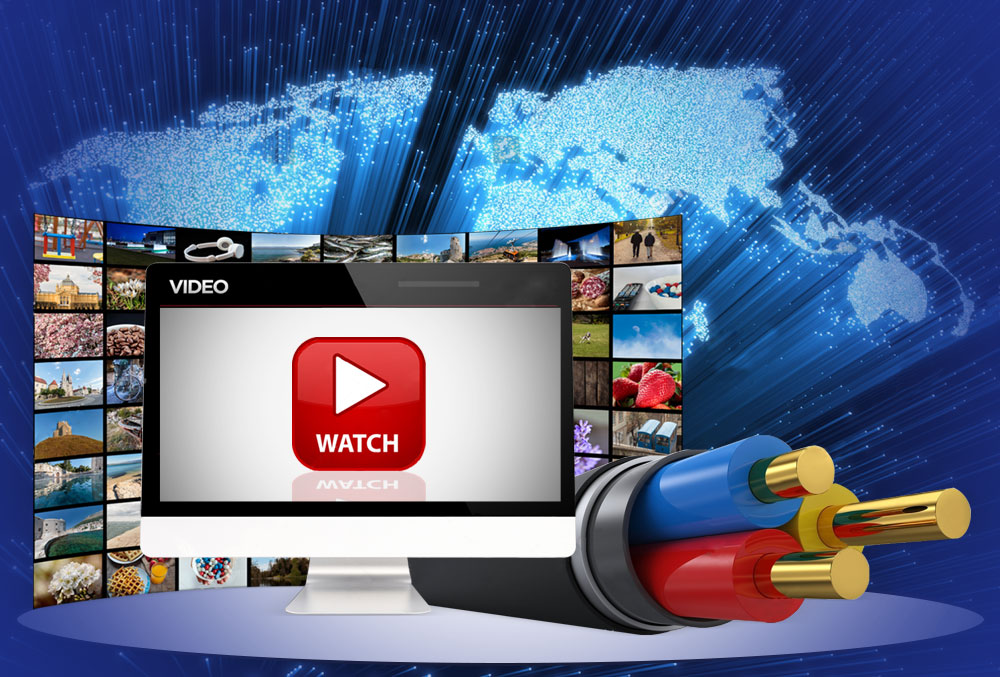 Thanks to Fiber Optic Internet, Video Streaming in HD Is Gaining Popularity